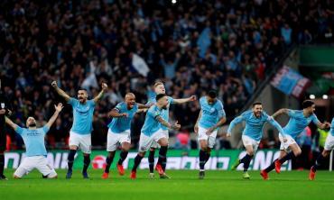 League Cup: el City de Otamendi y Agüero gritó campeón ante el Chelsea de Higuaín
