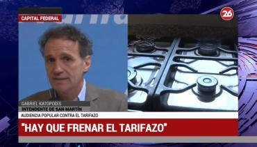 Katopodis sobre tarifazos: