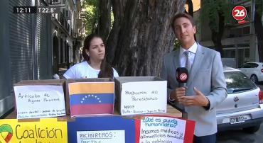 Crisis en Venezuela: organizan campaña para enviar donaciones