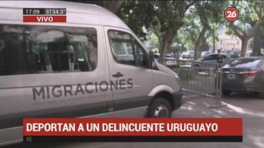 Deportan a motochorro uruguayo con pedido de captura