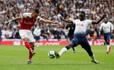 En Wembley, Tottenham y Arsenal igualaron en clásico que tuvo de todo