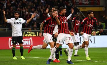 Serie A: el Milan de Musacchio le ganó al Sassuolo y se afirma en