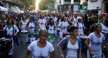 #8M pics: momentos fuertes de la marcha en todo el mundo
