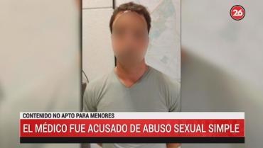 Canning: detuvieron a médico que se masturbó sobre una paciente