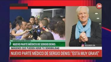 Nuevo parte médico de Sergio Denis:
