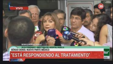 La salud de Sergio Denis: