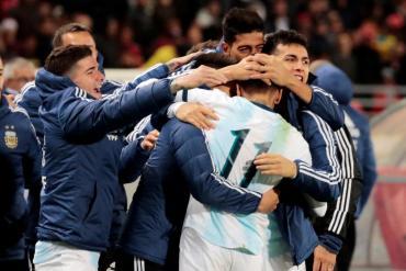 Argentina, fue una sombra: sin Messi le ganó con lo justo a Marruecos