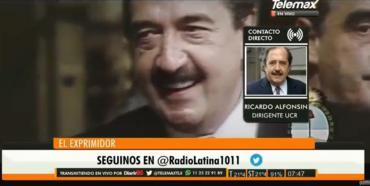 Ricardo Alfonsín sobre su padre: