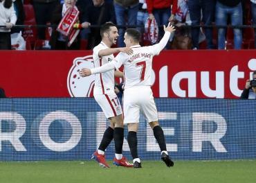 La Liga: Sevilla venció al Alavés y le robó su puesto europeo