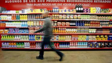 Ecos de la crisis: alimentos de consumo cotidiano ya cuestan $1.000 el kilo