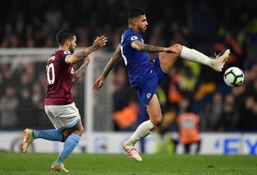 Premier League: con doblete de Hazard, el Chelsea venció al West Ham