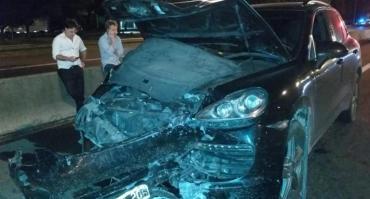 Conductor ebrio embistió en la Panamericana un Uber con su camioneta y mató a la pasajera