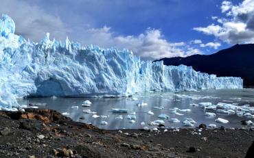 Hallan residuos radiactivos atrapados en los glaciares