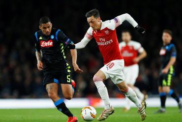Arsenal le ganó a Napoli y se vistió de candidato en la Europa League