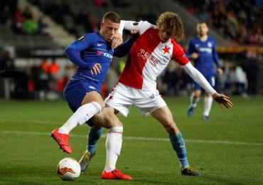 Chelsea, sin Higuaín, sufrió para ganarle al Slavia por Europa League