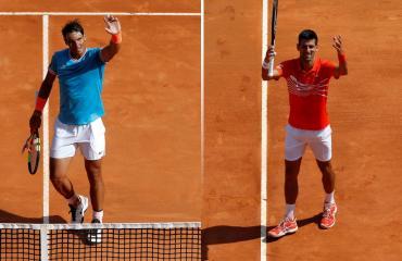 Nadal y Djokovic, sólidos en Masters 1000 de Montecarlo: avanzan a cuartos de final