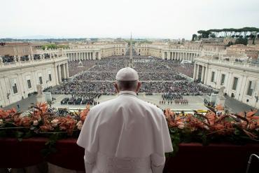 Misa de Pascua: el Papa Francisco expresó su