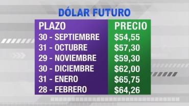 Dólar futuro hoy: la divisa ya se vende a $64,26 para febrero de 2020