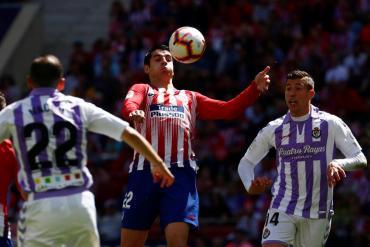 Atlético Madrid venció con algo de