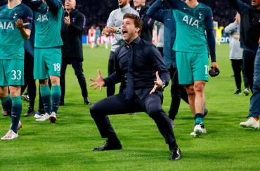 Pochettino, DT del Tottenham finalista de Champions: del drama a la gloria sin escalas