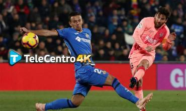 Barcelona vs. Getafe, el fútbol español se vive en Alta Definición por TeleCentro 4K
