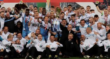 La Lazio ganó su 7º título de Copa Italia tras vencer 2-0 al Atalanta