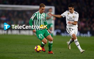 Real Madrid vs. Betis, el fútbol español se vive en Alta Definición por TeleCentro 4K