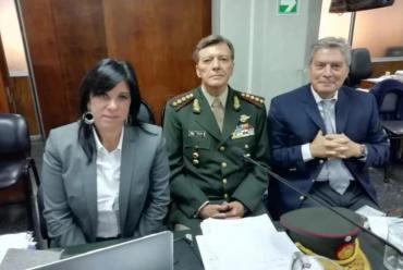 Milani en el juicio por la dictadura militar: