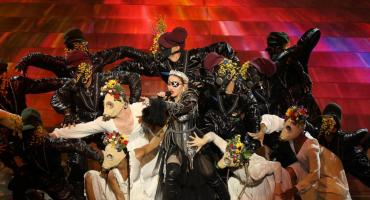 Madonna polémica en Eurovisión: muestra bandera de Palestina en Israel