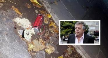 Encuentran artefacto similar a una bomba cerca de la casa del hijo de Stornelli