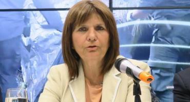 Patricia Bullrich se solidarizó con Massoni por el ataque a balazos a su camioneta