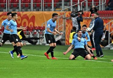 Uruguay venció a Noruega en la primera jornada del Mundial Sub 20