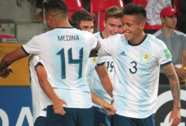 Argentina aplastó a Sudáfrica y tuvo un debut soñado en el Mundial Sub 20 de Polonia