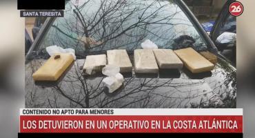 Santa Teresita: cayó pareja que vendía droga, el hombre era barra de Laferrere