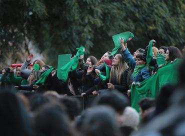 Aborto legal: más de 100 acciones en ciudades de Argentina y el mundo en apoyo