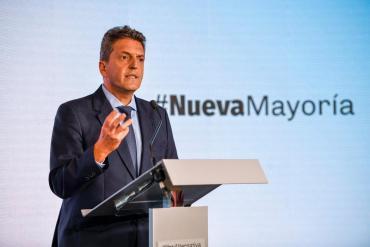 Sergio Massa define su futuro político y su estrategia en convención propia