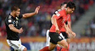 Mundial Sub 20: Argentina cayó ante Corea del Sur pero quedó como líder en su zona