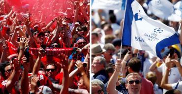 Furor en Madrid en la previa de la final entre Liverpool y Tottenham