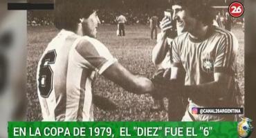 Copa América: la insólita edición en la que Maradona no fue el 10 de la Selección
