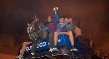 Tigre, histórico: celebró su primer título con una fiesta inolvidable