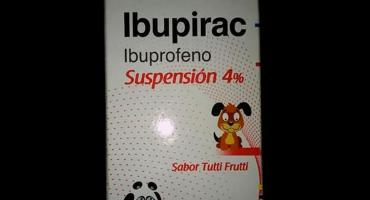 ANMAT retiró del mercado un lote de Ibupirac para niños y adultos mayores