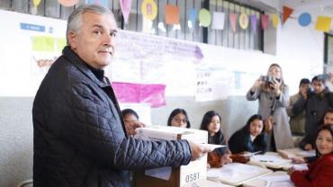 Morales tras su voto en Jujuy: