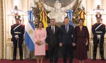 Macri recibió a Iván Duque, presidente de Colombia, en la Casa Rosada