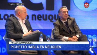 Miguel Ángel Pichetto en Neuquén:
