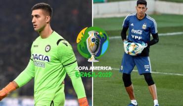 Musso, el reemplazo elegido de Andrada para la Copa América