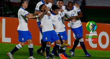 Brasil goleó a Bolivia y comenzó con el pie derecho su participación en Copa América