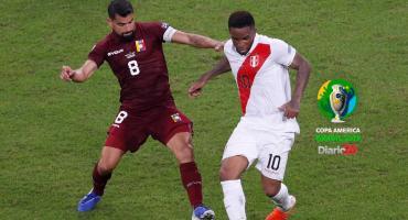 Perú lo buscó más pero no pasó del empate ante Venezuela en la Copa América 2019
