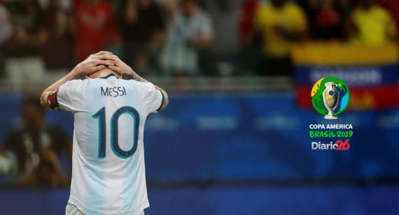 Una Argentina sin ideas cayó ante Colombia en el debut de la Copa América