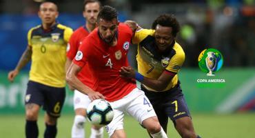 Chile venció a Ecuador y selló su pase a los cuartos de final de Copa América