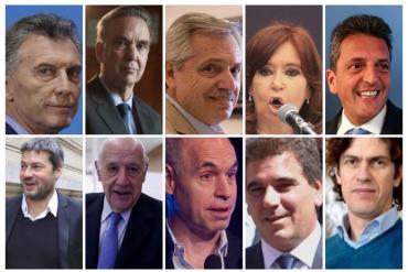 PASO 2019: hora y lugar donde votan los principales precandidatos del domingo de elecciones